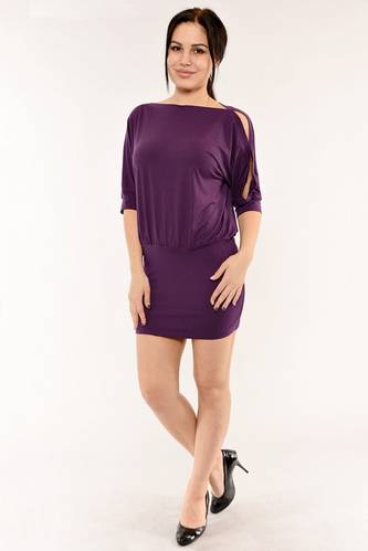Туника-платье трикотажная летняя стильная И6165