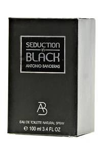 Туалетная вода Antonio Banderas Seduction in Black 100 мл. Л9116