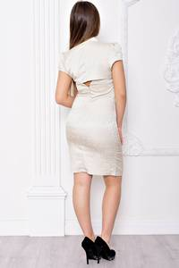Платье короткое вечернее облегающее С9073