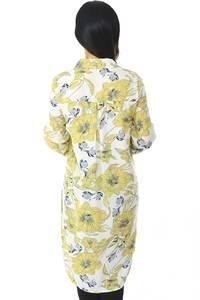 Рубашка-туника с принтом с длинным рукавом Н5960