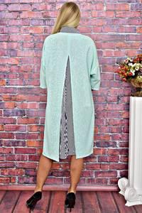 Платье Двойка длинное нарядное однотонное Т5938