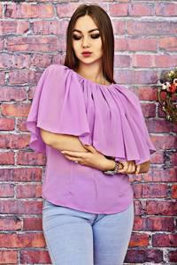 Блуза розовая летняя Т4229