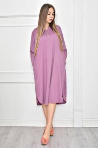 Платье короткое однотонное Ф0257