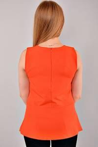Блуза для офиса без рукавов UCB-154