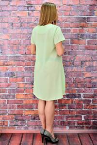 Платье-туника короткое вечернее однотонное П5727