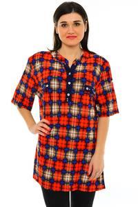 Блуза летняя нарядная М7189