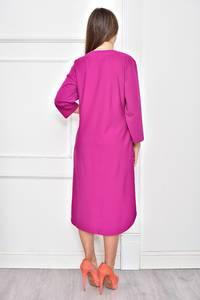Платье короткое однотонное Ф0259