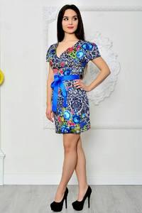 Платье короткое летнее нарядное П8406