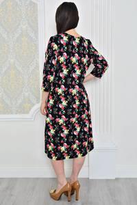 Платье короткое классическое трикотажное Р0476