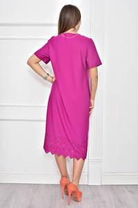 Платье короткое однотонное Ф0261