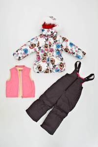 Куртка, брюки и жилетка Л6864