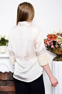 Рубашка белая с коротким рукавом Р7354