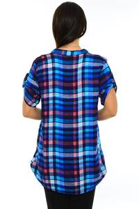 Блуза летняя офисная М7193