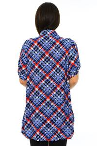 Блуза летняя офисная М7194