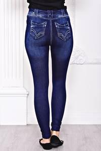 Лосины джинсовые С8433