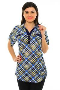 Блуза летняя офисная М7195