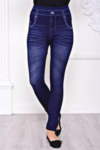 Лосины джинсовые С8434