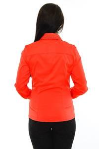 Рубашка красная с длинным рукавом М8823