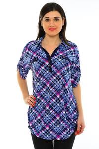 Блуза летняя офисная М7197
