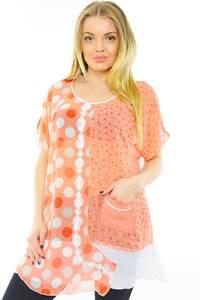 Блуза праздничная летняя Н0253