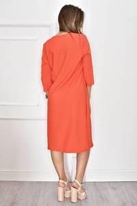 Платье длинное однотонное нарядное Т6625