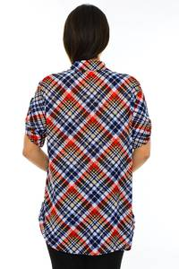 Блуза летняя офисная М7198