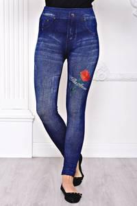 Лосины джинсовые С8438