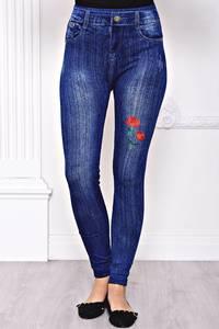 Лосины джинсовые С8439