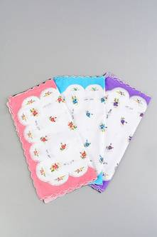 Носовой платок комплект 3801