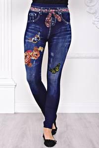 Лосины джинсовые С8440