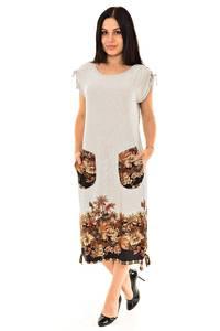 Платье длинное нарядное белое К9029