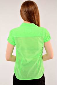 Рубашка из хлопка с коротким рукавом И1916