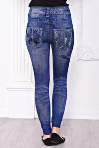 Лосины джинсовые С8442