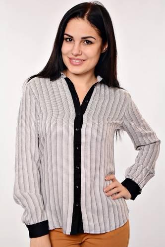 Рубашка из хлопка с длинным рукавом R-001