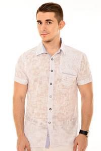 Рубашка 13-0232-40(голуб.)