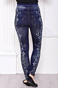 Лосины джинсовые С8444