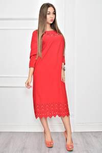 Платье короткое нарядное однотонное Ф0275