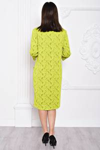 Платье длинное желтое нарядное С9706