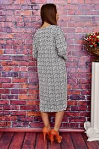 Платье длинное офисное нарядное Т4239