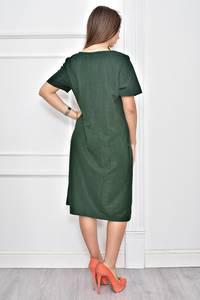 Платье короткое нарядное однотонное Ф0276