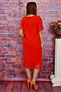 Платье длинное вечернее красное Т4171