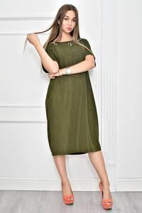 Платье короткое нарядное однотонное Ф0280