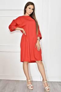 Платье короткое красное вечернее Т6772