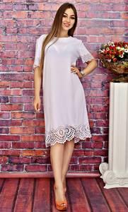 Платье длинное белое вечернее Т4174