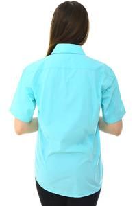 Рубашка однотонная с принтом Н6787