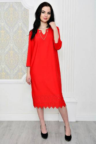 Платье короткое классическое повседневное Р1960