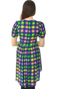 Туника-платье короткое повседневное нарядное Н6626