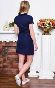 Платье короткое классическое облегающее Р7647