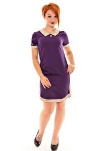 Платье короткое классическое нарядное К7096