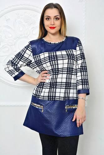 Туника зимняя модная нарядная П9762